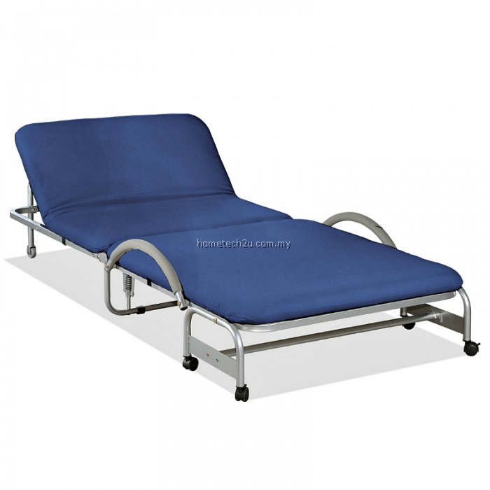 Foldable Bed With Head Reclining Function Single Size