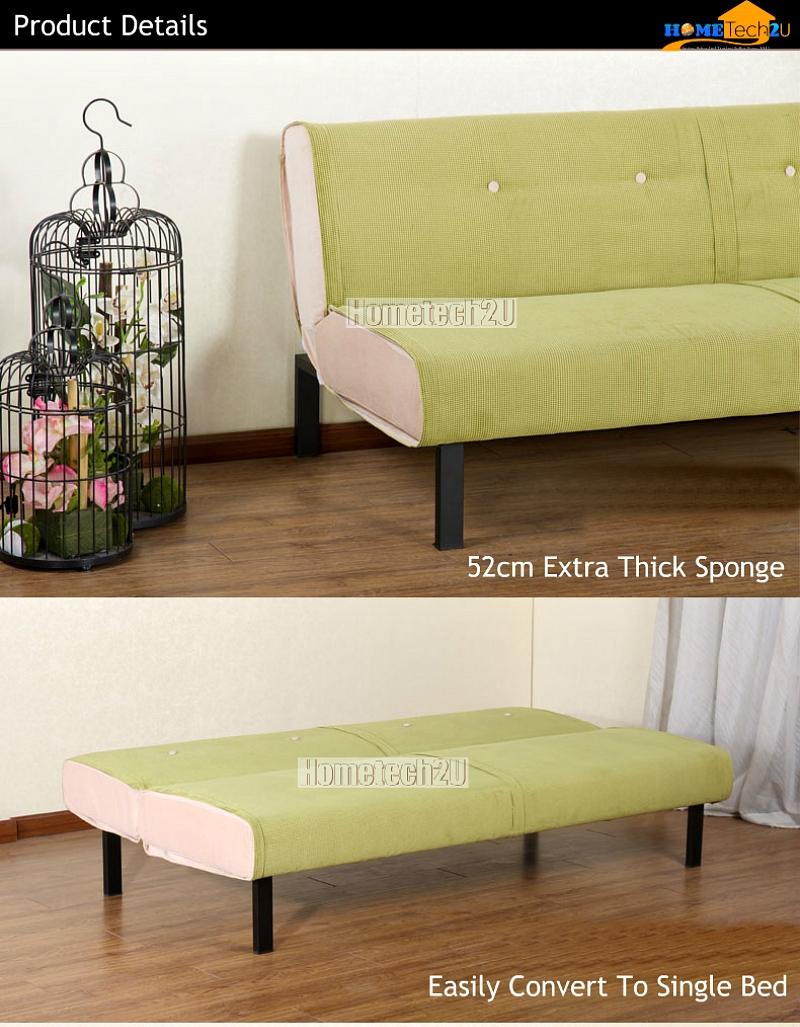 Carissa Stylish Microfiber Sofa Bed End 3 14 2019 5 46 Pm