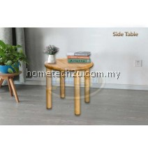AGATHA SOLID WOOD BED SIDE LAMP TALBE (100% MADE IN MALAYSIA)