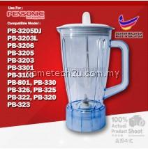 BLENDER JUG FOR PENSONIC PB-3203L, PB-3205DJ, PB-3206, PB-3205, PB-3203