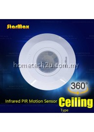StarMax 360 degree ceiling AC sensor switch PIR infrared motion sensor LED light lamp switch
