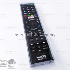 ORIGINAL HUAYU Compatible SONY TV LED LCD NETFLIX Remote Control Replacement