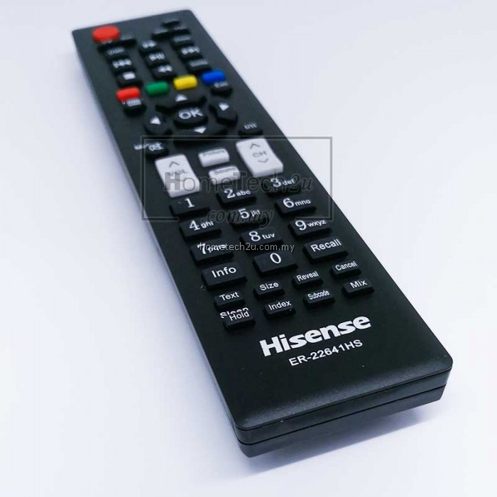 Hisense Led Tv Remote Control Er 22641hs