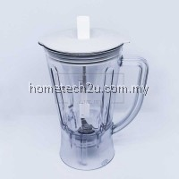 BLENDER JUG BIG 1080 FOR PANASONIC MX-GM1011H, MX-800S, MX-801S, MX-900M, MX-337, MX-898M, MX-SM1031S, MX-GM0501, MX-799S,MX899 (Made in Malaysia)