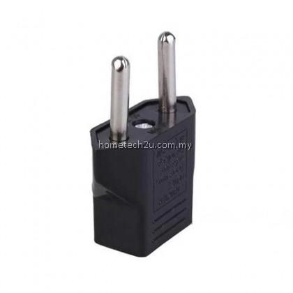 Premium Quality-Universal 2 Pin Plug Socket Travel Adapter Adaptor US EU CHINA To Malaysia UK Converter