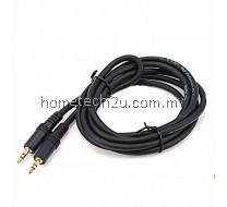 High quality gold copper Stereo To Stereo Cable Connect To AUX Jack