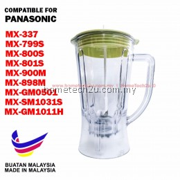 BLENDER JUG BIG 1080 FOR PANASONIC MX-GM1011H, MX-800S, MX-801S, MX-900M, MX-337, MX-898M, MX-SM1031S, MX-GM0501, MX-799S