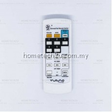 UNIVERSAL FAN REMOTE CONTROL RM-F989 for Wings Deka Elmark KDK Alpha Winter Eurouno Fanco Panasonic National