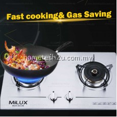 Milux MGH-S633M Stainless Steel Premium Built-in Hob Gas Cooker Stove