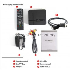 MYTV DECODER DVB T2 FULLHD BOX K2 SET TOP BOX MYFREEVIEW