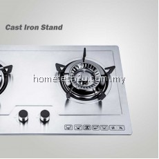 [NEW] Milux Built-In Gas Cooker Hob Stove Fully Stainless Steel Body MGH-S655