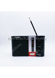 Phison Portable MP3 FM/AM Radio with USB SD Card