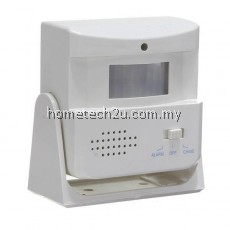Wireless Door Bell Welcome Alarm Chime Motion Sensor Detector Low pow