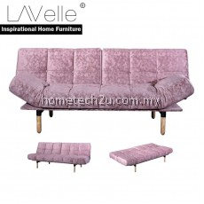 PANSY Creative Modern 3 Seater Fabric Sofa Bed For Homestay