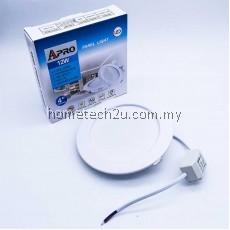 APRO SIRIM CERTIFIED 4 inch 12W LED Ceiling Light Downlight LED Panel Light Slim Panel Daylight