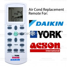 Daikin York Aircond Remote Control Replacement York Air Conditioner Remote control