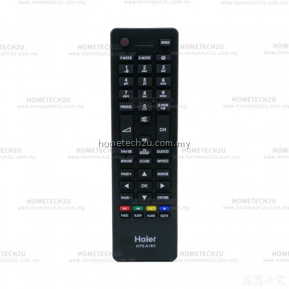 Haier LCD/LED TV Remote Control Replacement for Haier HTR-A18M 55D3550 40D3500M 48D3500