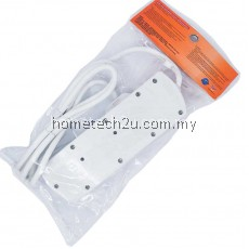 PNC TRAILING SOCKET EXTENSION SWITCH SOCKET 3 GANG 2 METERS
