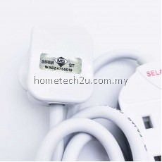 Selamat 4 Gang 2Meters Surge Protection Extension Trailing Socket [SIRIM APPROVED]