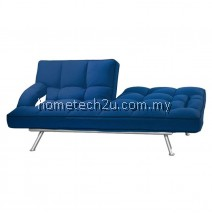 Uhome 3 Seater Sofa Bed Sofabed (Blue Midnight)