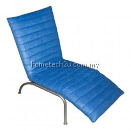 Eva Reclining Relax Chair Sofa (Fabric) - Aloba Big Blue