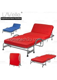 LAValle Folding Bed Foldable Bed With Head Reclining Function (Free Shipping)