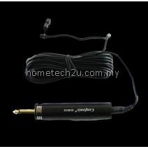 Cenfonix Condenser Clip Microphone Mini Tie Clip Mic 10 Meters Cable (Black)
