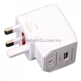 USB Universal Travel Ac Power Adapter