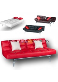 Splitback Kyo Mini Alpha Sofa Bed Reclining / Stainless Steel Legs