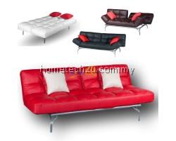 Splitback Kyo Mini Alpha Sofa Bed Reclining / Stainless Steel Legs