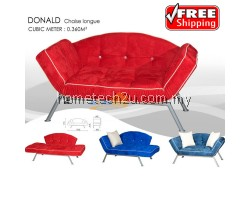Donald Chaise Longue Modern Sofa Bed (Free Shipping)
