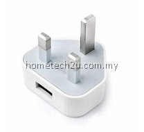3 Pin Wall USB power adapter plug charger for iPad, iPhone, Samsung