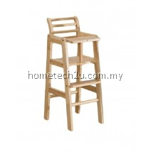 Baby Chair Commercial Restaurant Wooden High Chair With Header
