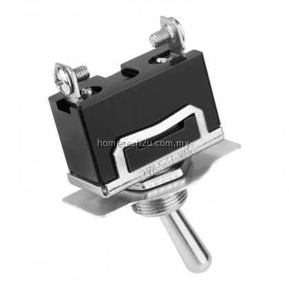 Heavy Duty Rocker Toggle Switch 15A 250V 20A 125V SPST 2 Pin ON/OFF Switch Metal Modified Car Switch