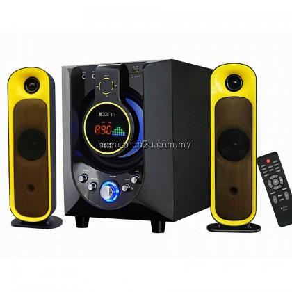 Denn 2.1ch PC Audio Multimedia Bluetooth Speaker with Remote Control (D-9970B)