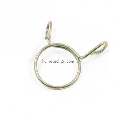 Washing Machine Drain Hose Metal Clip Clamps 1.2 inchDia. 2inch Width