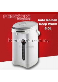 Pensonic 6.0L Thermo Flask Thermopot PTF-600A White