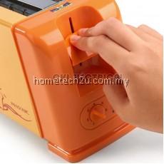 Pensonic 4 Slice Pop Up Bread Toaster AK-4 White