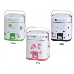 Portable Mini Rice Cooker Multifunctional Electric Heating Lunch Box