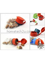 Reusable Bag Cap For Any Plastic Bag Easy Storage Bag Sealer Cap