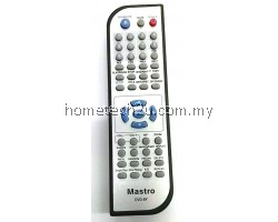 Homax DVD Player Remote Control DVD-8Y