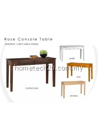 Rose 4 Ft Console Table With 2 Drawers (Free Shipping)