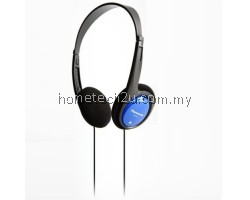 Panasonic RP-HT010-A Headphones comfort fit RPHT010 Blue /GENUINE