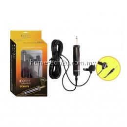 IDENN Mini Tie Clip Condenser Microphone Presentation Clip Mic