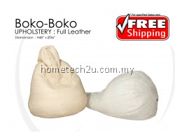Premium Quality Full Leather Bean Bag
