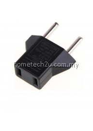 CHINA US to 2 Pin EU German AC Travel Power Adapter Plug Converter