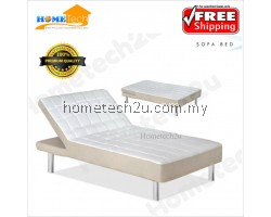 Comfort Fabric Bed With Head Recliner Function