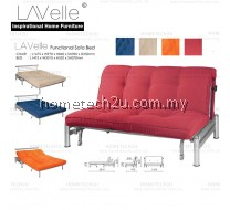 Modern Foldable Fabric Sofa Bed Queen Twin Size
