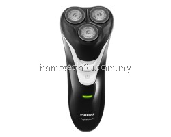 PHILIPS WATERPROOF RECHARGEABLE WET & DRY SHAVER AT610