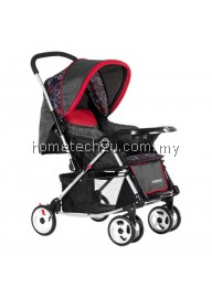 Sweet Heart Paris ST326T Baby Stroller Red